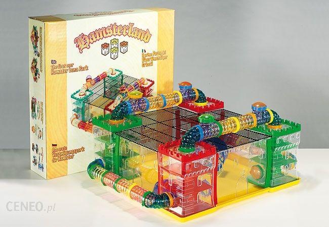 Góra FOP - Plac zabaw dla chomika HAMSTERLAND 60x60x25. - Ceny i opinie MF17