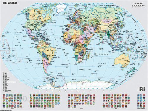 Ravensburger Polityczna Mapa Swiata 156528 Ceny I Opinie Ceneo Pl