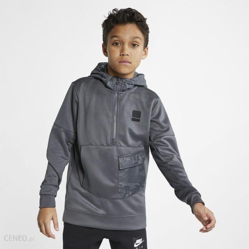 Bluza dla dużych dzieci (chłopców) Nike Air Max Szary Ceny i opinie Ceneo.pl