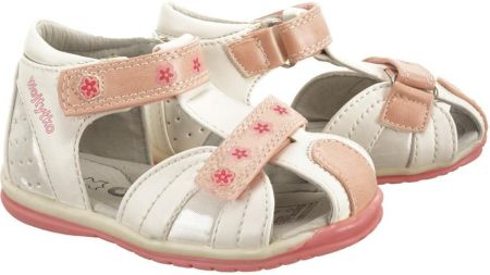 Sandałki z kokardką Ren But 1489 białe sr r.21 Ceny i