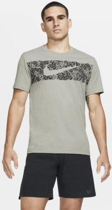 65742be34 Nike Męski T-shirt treningowy Nike Dri-FIT - Szary. Koszulka męska NikeNike  ...