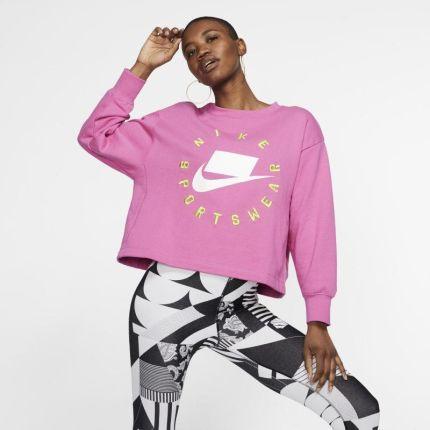 bbe6448fb Nike Damska bluza z dzianiny Nike Sportswear NSW - Czerwony