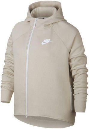 f1412f133 Nike Damska rozpinana bluza Nike Sportswear Tech Fleece (duże rozmiary) -  Kremowy