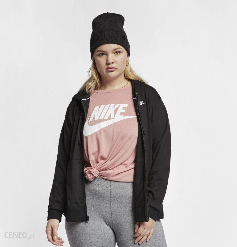 613afcec6d1c3a Nike Damska bluza z kapturem i zamkiem na całej długości Nike Sportswear  (duże rozmiary)