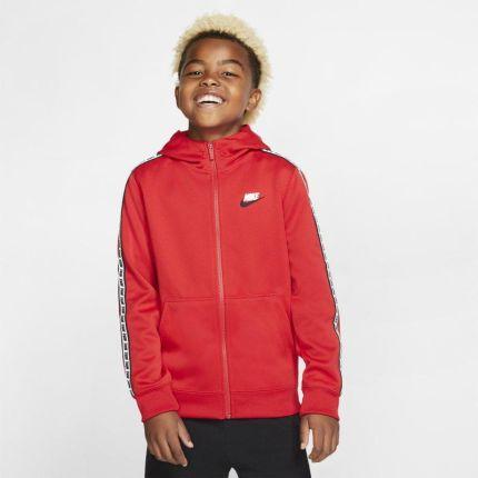 Nike Bluza z kapturem w kontrastowych kolorach dla dużych