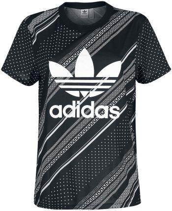 8909daece Adidas - BF Trefoil - T-Shirt - Kobiety - czarny/biały ...
