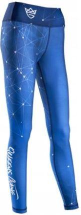 6589bf723512a1 Olimp Queens Gang Leginsy Galaxy Blue Na Siłownię Allegro