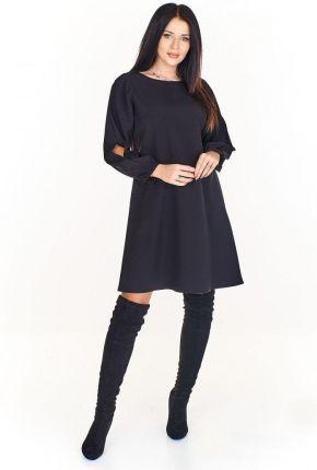 1ab7d0f6 PtakModa - Ołówkowa sukienka z rękawem 3/4 LA BLANCHE - Ceny i ...