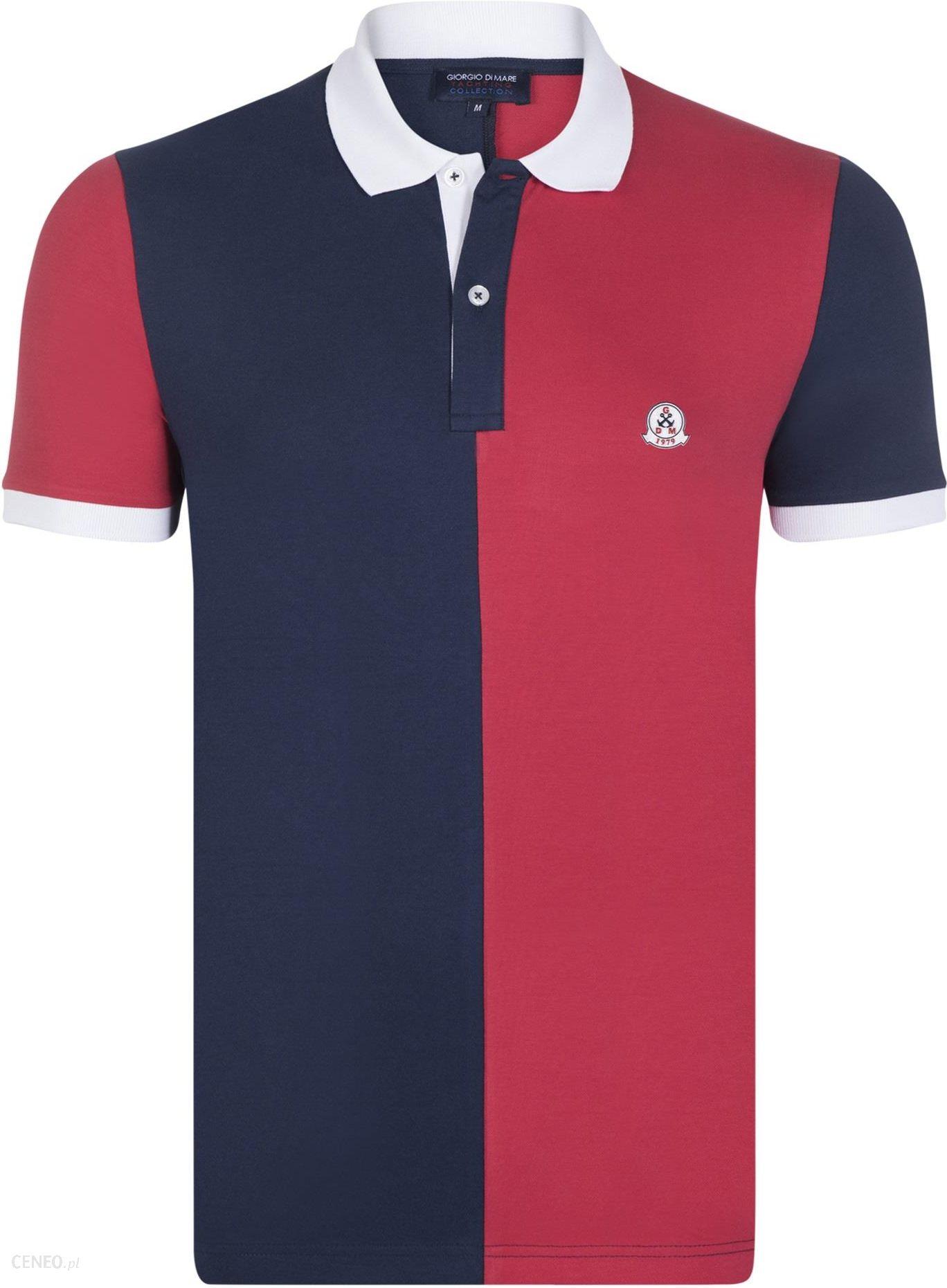 Giorgio Di Mare koszulka polo męska GI3283671 M czerwona Ceny i opinie Ceneo.pl