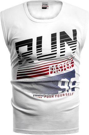 b7cb6f1cb04edc Białe T-shirty i koszulki męskie - Ceneo.pl