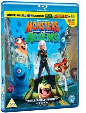 Monsters vs. Aliens (Potwory kontra obcy) [Blu-Ray 3D]+[Blu-Ray]