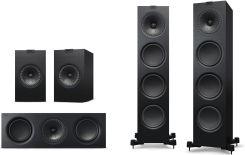 KEF Q-Series Q500 + Q100 + Q200c + Q400b - Zestawy kolumn