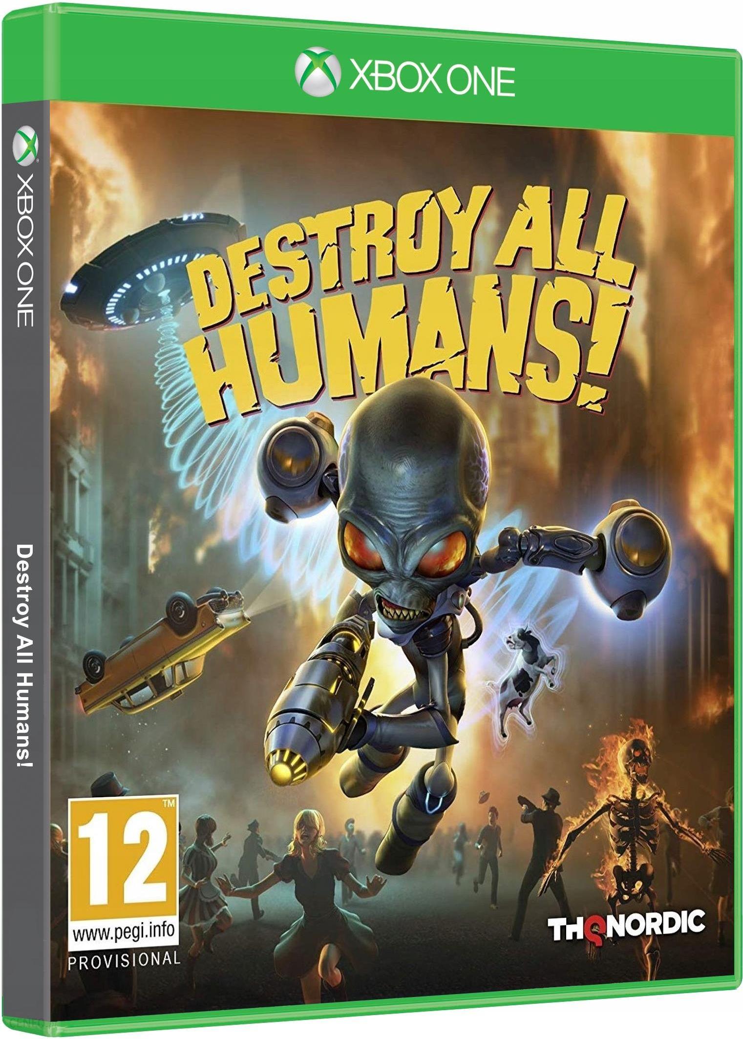 Destroy All Humans Gra Xbox One Od 87 99 Zl Ceny I Opinie Ceneo Pl