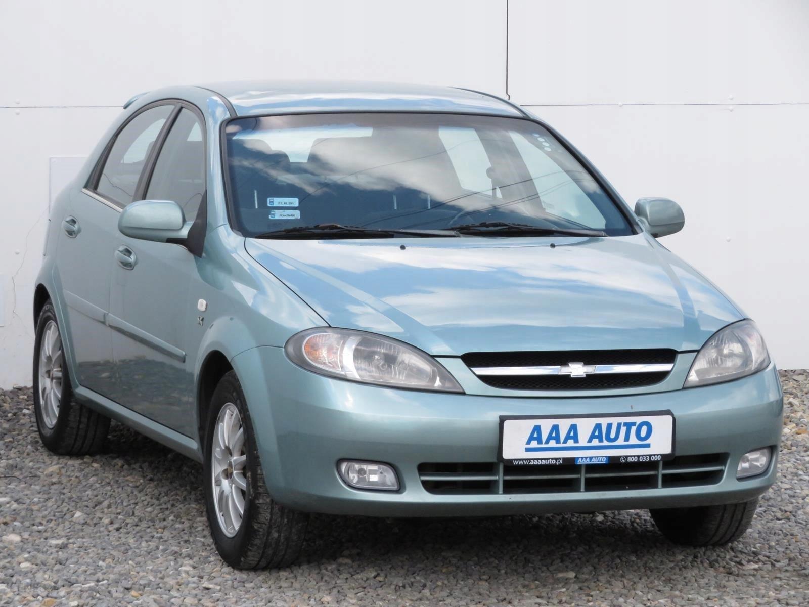 Chevrolet Lacetti 1 6 Gaz Klima Alu Opinie I Ceny Na Ceneo Pl