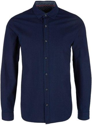 f4b2d56ae011f1 Oliver Męska koszula 13.902.21.6776.59Y1 BlueDenim Non Stretch (rozmiar M
