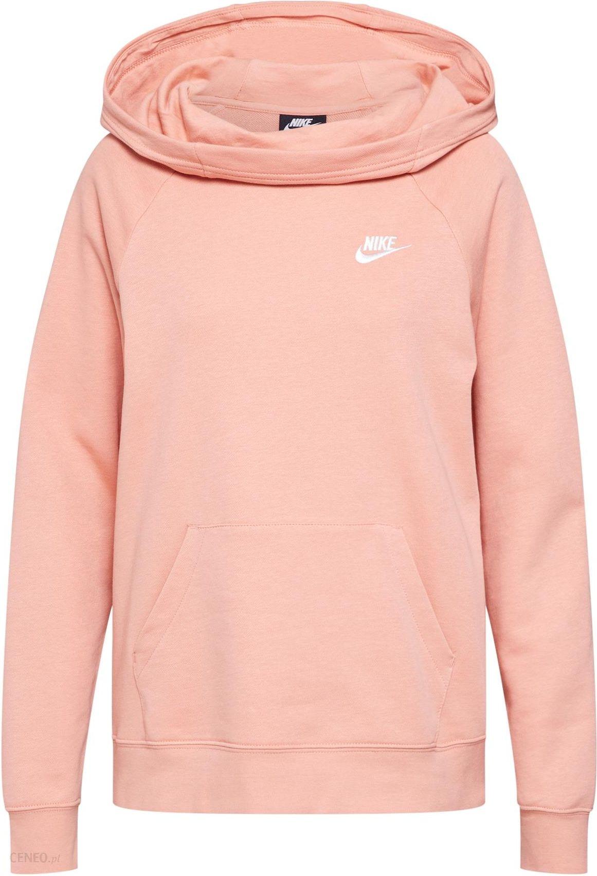 Damska bluza z kapturem Nike Sportswear Tech Fleece rozpinana Biała Melanż Czarna