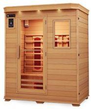 Wooder Sauna infrared EA2R 120x105 brązowy