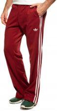 Dresowe Spodnie Męskie Adidas E14561 Bordowe Dresy Ceny i opinie Ceneo.pl