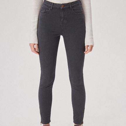 0676036b4b4de3 Mohito - Luźne spodnie na lato - Niebieski - damski - Ceny i opinie ...