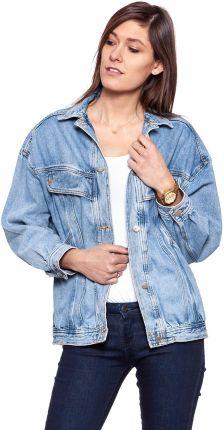 Pull & Bear Krótka kurtka jeansowa Ceny i opinie Ceneo.pl