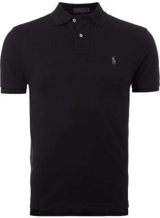 Polo Ralph Lauren Koszulka polo z wyhaftowanym logo - Ceny i opinie T-shirty i koszulki męskie TIWV
