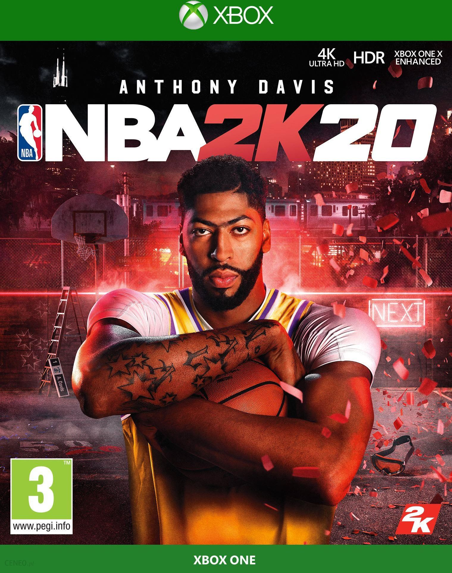 Nba 2k20 Gra Xbox One Od 38 87 Zl Ceny I Opinie Ceneo Pl