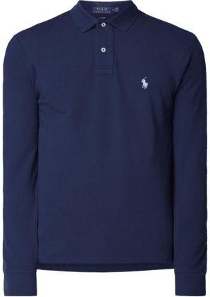 efed86efc Polo Ralph Lauren Koszulka polo o kroju Slim Fit z długim rękawem ...