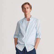 Elegancka śmietankowa (ecru) koszula smokingowa z łamanym  c0A6J