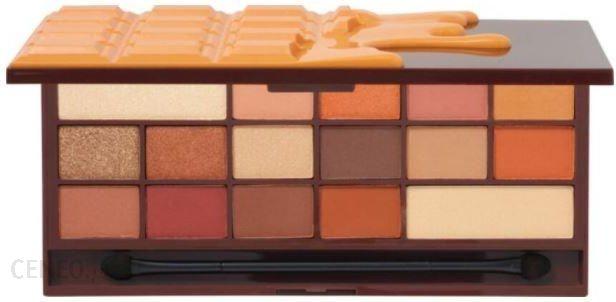 i heart revolution i heart makeup chococalte paleta 16 cieni orange