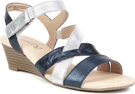 94e5e98a CAPRICE 9-28702-26 NIEBIESKIE – Wygodne buty damskie na lato - Ceny ...