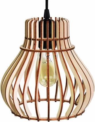 Drewniana lampa sufitowa Lampy sufitowe Ceneo.pl