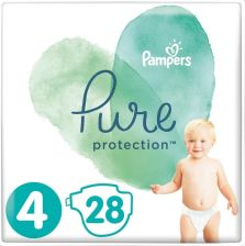 Pampers Pure Protection S4 (9-14Kg) 28Szt.