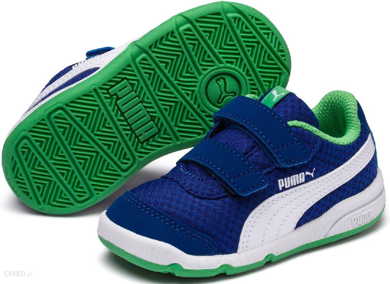 Puma Stepfleex 2 Mesh V PS Surf The Web Irish Green White 34 35 Ceny i opinie Ceneo.pl