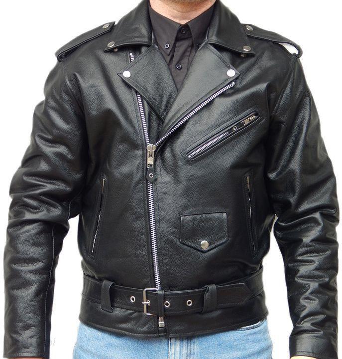 kurtka skórzana ramoneska męska motocyklowa najtaniej