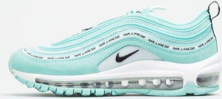 Nike Sportswear Trampki niskie 'Air Max 97' Niebieski Srebrny Biały Ceny i opinie Ceneo.pl