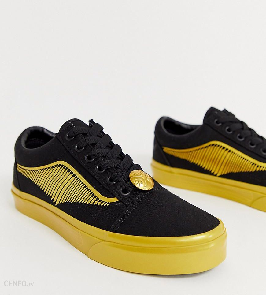 Vans X Harry Potter Golden Snitch Old Skool trainers Black Ceneo.pl