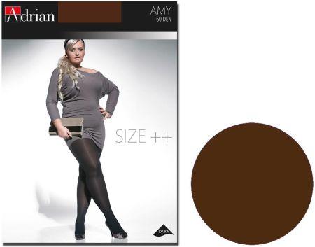 Rajstopy Amy Adrian 60 den size plus Chocolate - Ceny i opinie Rajstopy CJBV