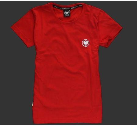 81bd3faf562bc5 Koszulka patriotyczna damska - Orzeł (czerwona) M