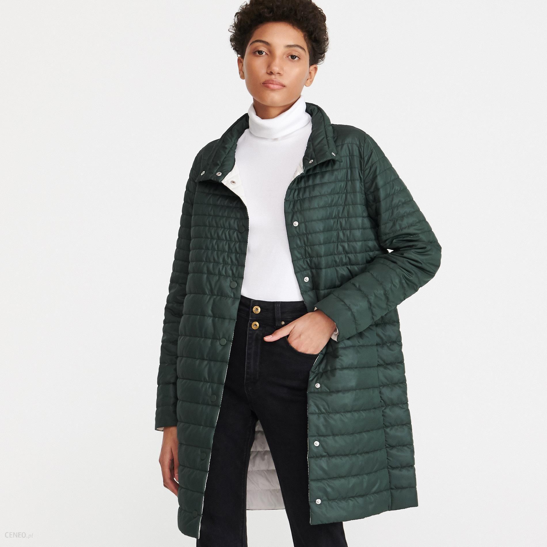 Wiosenny pikowany płaszcz