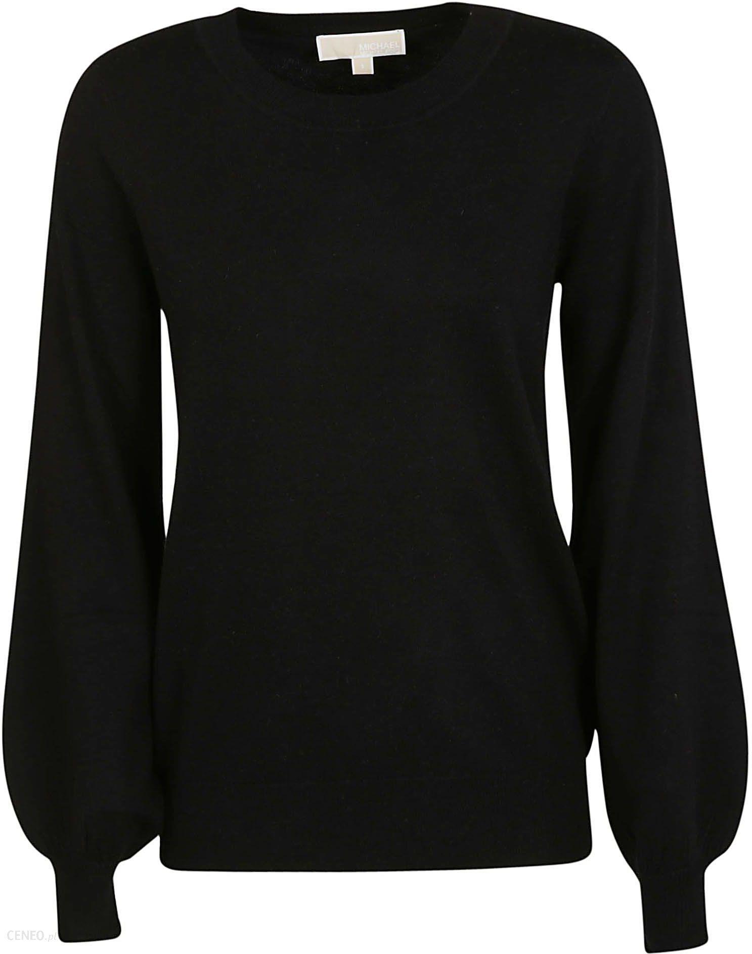 bluza koszulka top rozcięta na plecach czarna