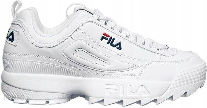 Sneakersy Buty Męskie Fila Disruptor białe 41