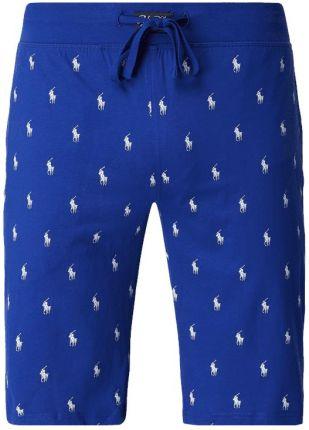6f70875319e5dd Polo Ralph Lauren Underwear Szorty od piżamy ze wzorem z logo ...