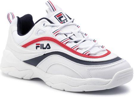 Sneakersy FILA Ray F Low 1010578.01M WhiteFila NavyFila Red Ceny i opinie Ceneo.pl