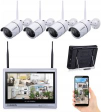 e8d8566b5c6806 4CH 1080P Wifi Nvr LCD monitoringu WiFi 4 kamery