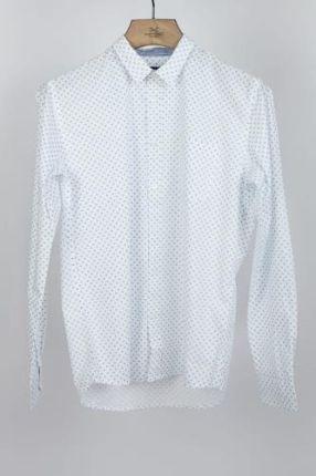 5a012d66e8e3d6 ENS Biała koszula we wzorki - Ceny i opinie - Ceneo.pl