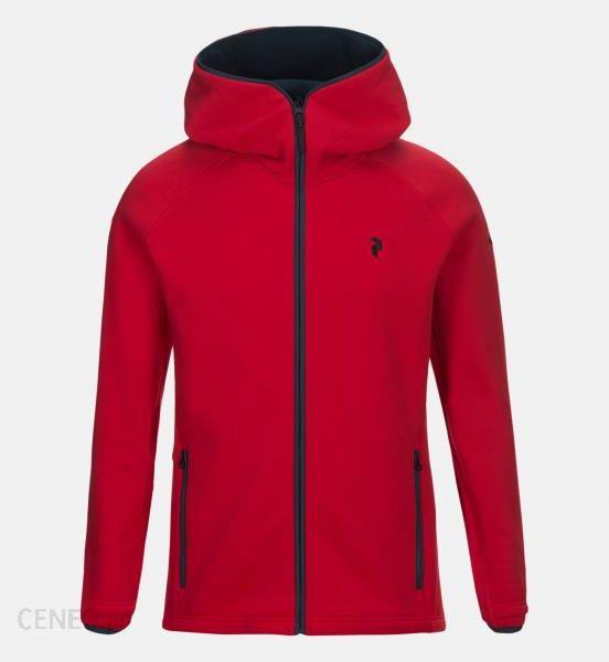 peak performance bluza czerwona