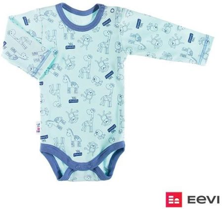 03591ea43bd4ec Body niemowlęce bawełniane długi rękaw MIŚ 68-104 Ewa Klucze - Ceny ...