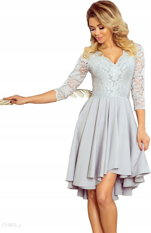 38ec31851a3cc7 Seksowna sukienka Koronkowa z dłuższym tyłem S - Ceny i opinie ...