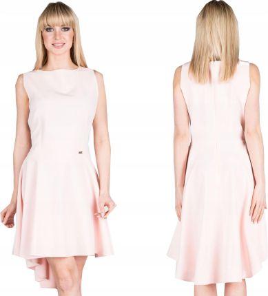 f8a6bcfd87026c Asymetryczna Sukienka Na Wesele Okazję 44699 L 40 Allegro