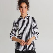 Koszula w paski. Najmodniejsze damskie stylizacje Kraina Stylu  orH1L